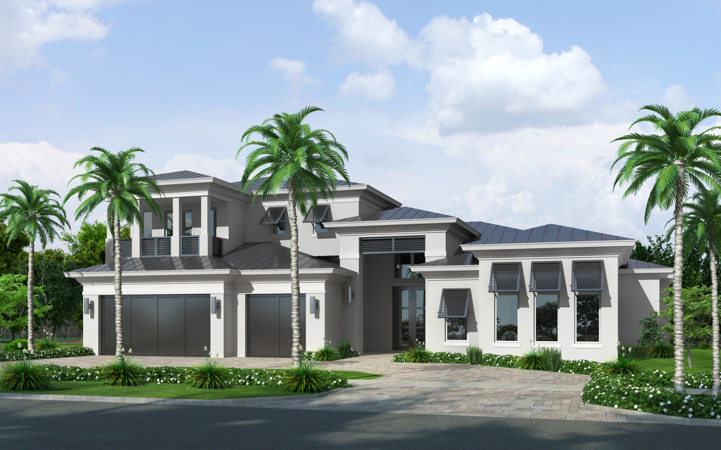 South florida custom home building ccm 561 436 3679 for Custom home plans florida