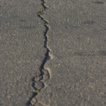 cracking makes asphalt an unattractive choice for custom paving in South Florida