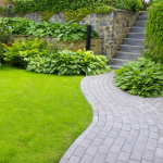 Custom landscaping can actually make your home green