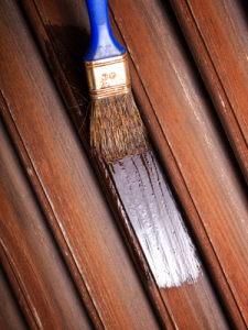 wood painting and resurfacing is part of Wellington home repair