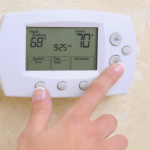 CCM's home maintenance services include setting thermostats