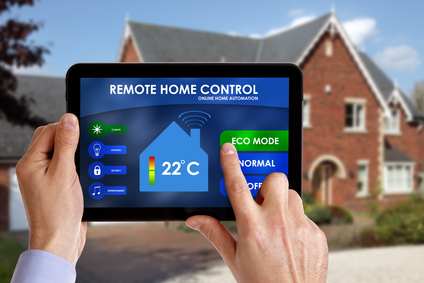 Using home automation to set temperature