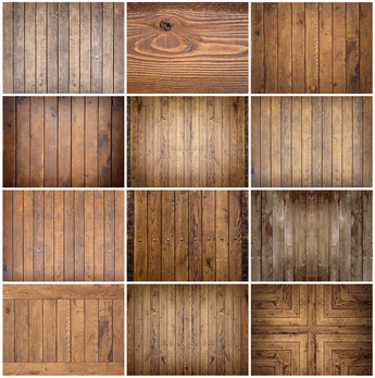 Different hardwood floor installation textures